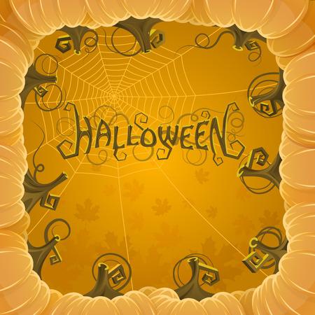 Cover Halloween art creative.  Vector