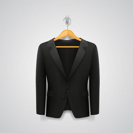 hanger: Jacket on a hanger art Illustration