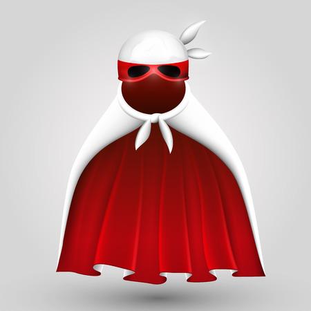superhuman: Superhero suit art creative costume Illustration