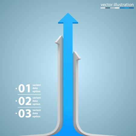 crecimiento: Flechas crecimiento empresarial info arte