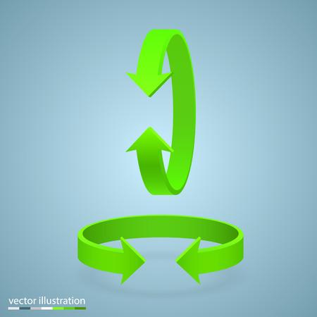 flexure: Arrow rotation 3d art info