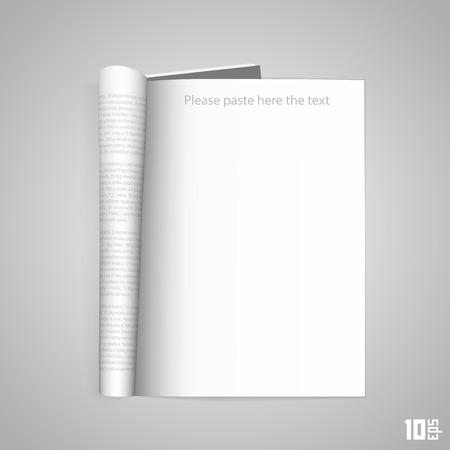 Open the paper journal art