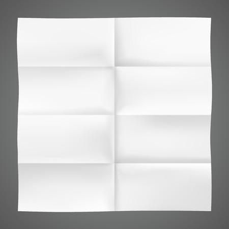 art piece: Folded piece of paper art