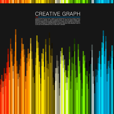 color spectrum: The color spectrum art modern. Vector illustration Illustration