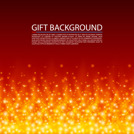 Gift fire background. Fire cover, Magic background