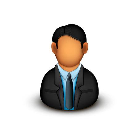 Office men art people business. Vector illustration