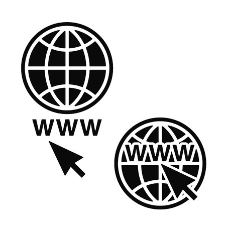 Web Icons set. Illustration