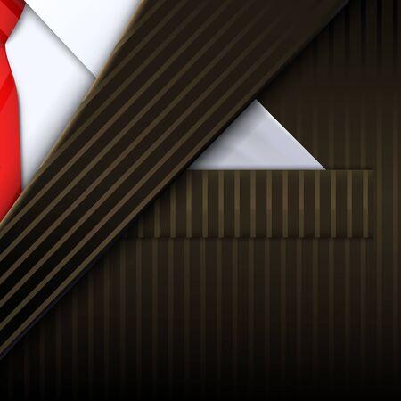 Unusual tuxedo background. Design template. Vector illustration