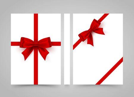Buon compleanno. Fiocco su carta bianca. striscione road book. Carta formato A4, elemento di design modello, Vector Vettoriali