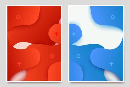 Dynamic 3d textured background. Grate for sale or promotion banner, ad cover, web header landing page. Vector illustration