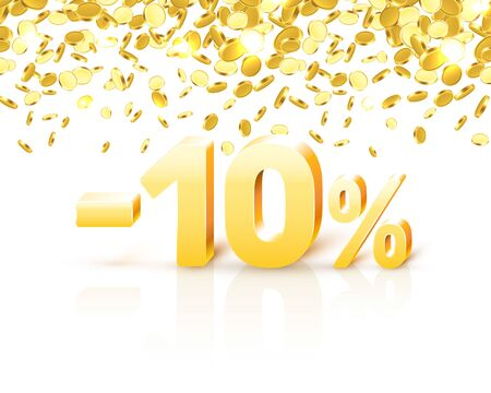 Big Discount, action with share discount percentage 10.