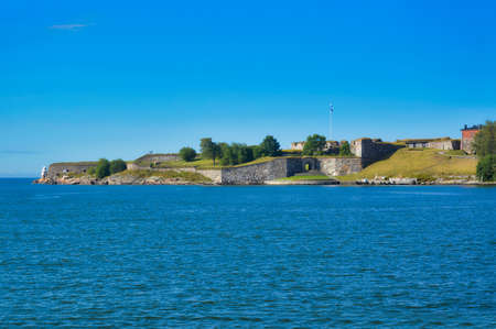 This is the King's gate from the Suomenlinnan sea fortress of Helsinki, Finland Zdjęcie Seryjne
