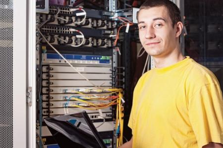 administrador de empresas: El ingeniero en el centro de datos
