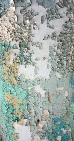 Peeling paint texture in abandoned home. Stock Photo - 8884612