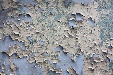 Peeling paint texture in abandoned home. Stock Photo - 8884611