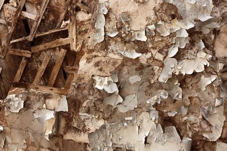 Texture of cracked wall in abandoned building Stock Photo - 8884629