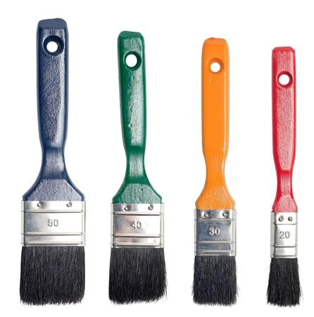 Paint brush set photo