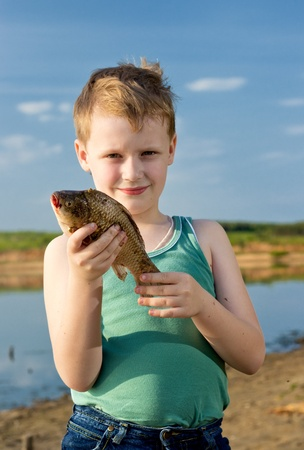 windless: The young fisherman. First fish.