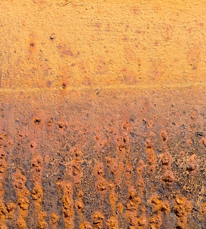 Detail of old, orange, rusty metal texture background Stock Photo - 10353809