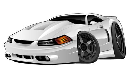 De moderne Amerikaanse Muscle Car