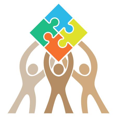 Teamwork Puzzle icon