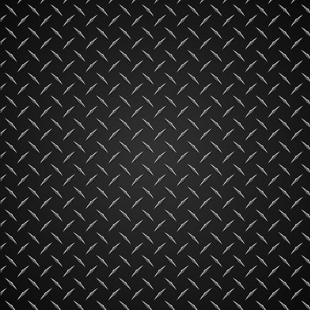 다이아몬드 플레이트 현실적인 벡터 그래픽 일러스트 레이션