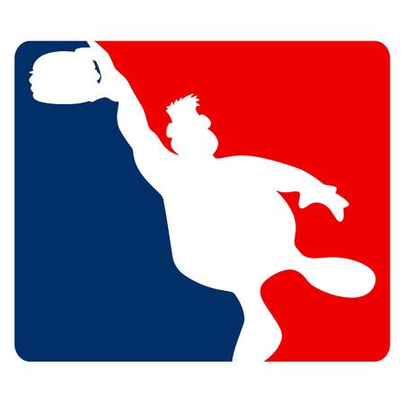 Hamburger Guy Sports Cartoon Vector Illustration Vector Illustration