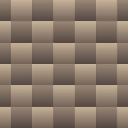 Natural Tone Gradient Checkered Basketweave Seamless Repeating Pattern Background Vector Illustration