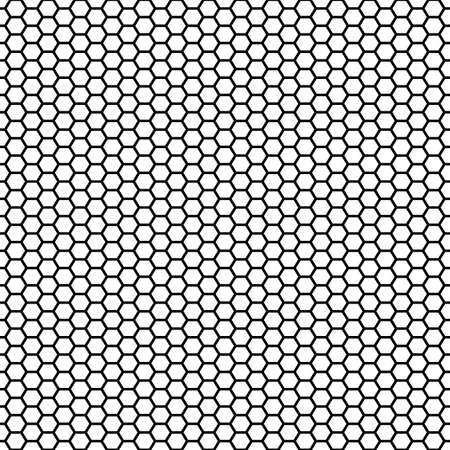 Honeycomb Seamless Repeating Pattern Vector Illustration