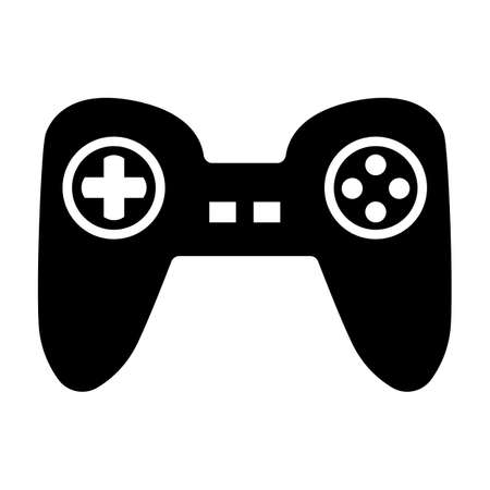 Video Game Controller Isolated Vector Illustration Ilustracja