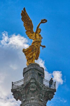 The Angel of Independence - Mexico City, Mexico Фото со стока