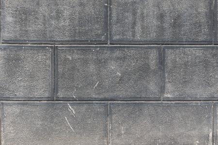 Grey concrete blocks wall texture