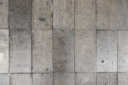 Grey concrete block wall texture