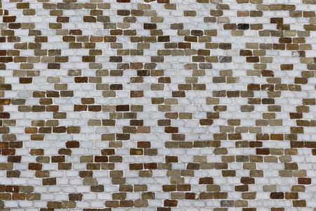 Multi-colored tile wall texture Фото со стока