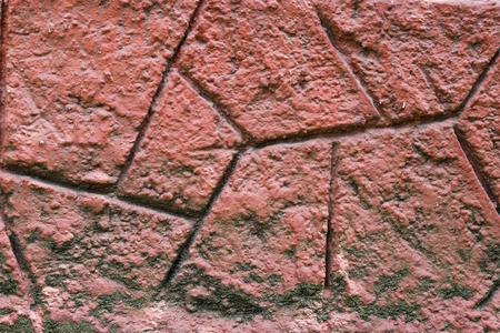 Red rock wall texture Фото со стока