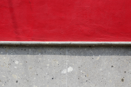 Red and grey wall texture
