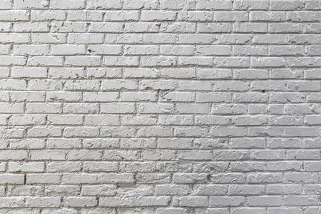 White brick wall texture Фото со стока