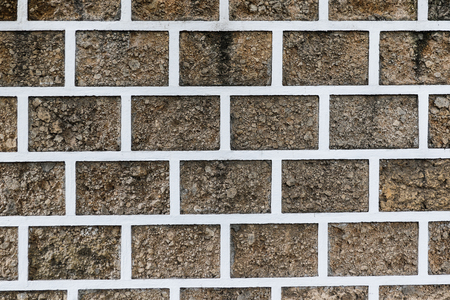 Rock brick wall texture