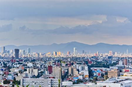 Mexico City Panorama Фото со стока