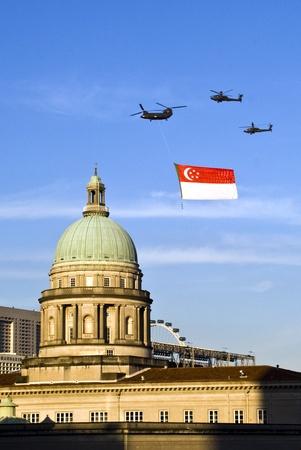 Singapore flags Editorial