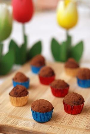 chocolate truffle: Chocolate truffle