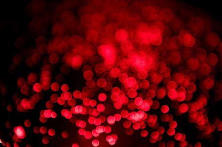 glass fiber: red, out of focus, glass fiber