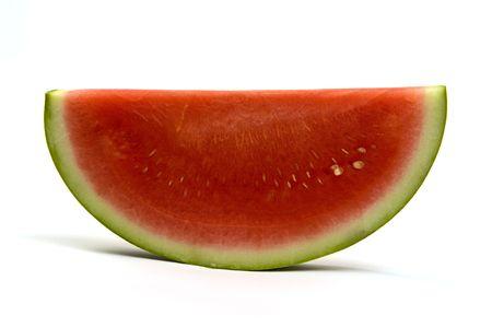 peal: curve of health, watermelon slice