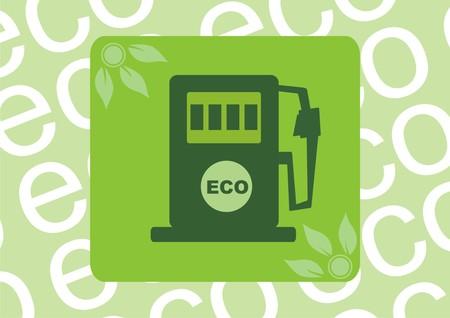eco fuel. Vector illustration Vector