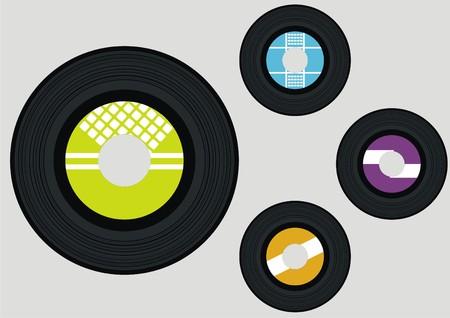 vector vinyl Illustration