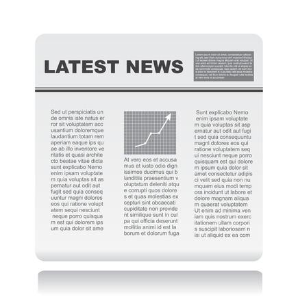 newspaper vector Stock Vector - 5737246
