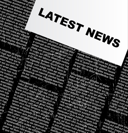 newspaper vector Stock Vector - 5737248
