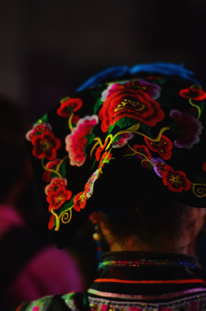 head wear: Head wear of ethnic minorities