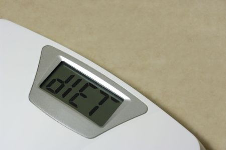 Scale diet concept, includes clipping path. Stock Photo - 5429136