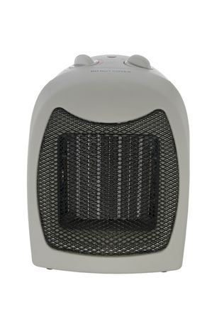 Space heater isolated on white with clipping path photo